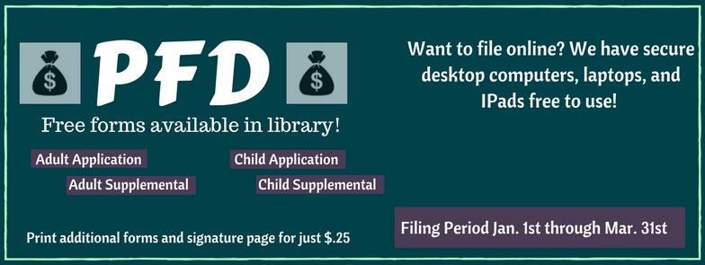 PFD - Palmer Public Library Palmer, AK
